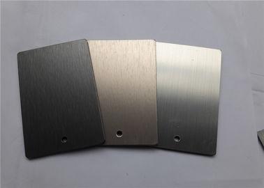 086c8f4830 Gebürstetes fertiges gemaltes Aluminium bedeckt kundengerechte Breiten-gute  Starrheit